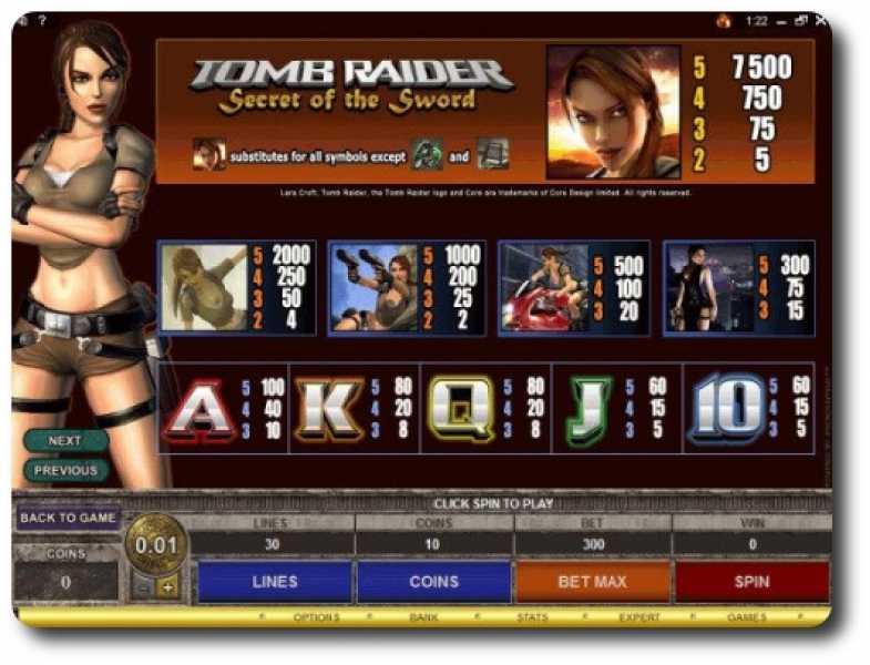Avalon™ Slot spel spela gratis i Microgaming Online Casinon